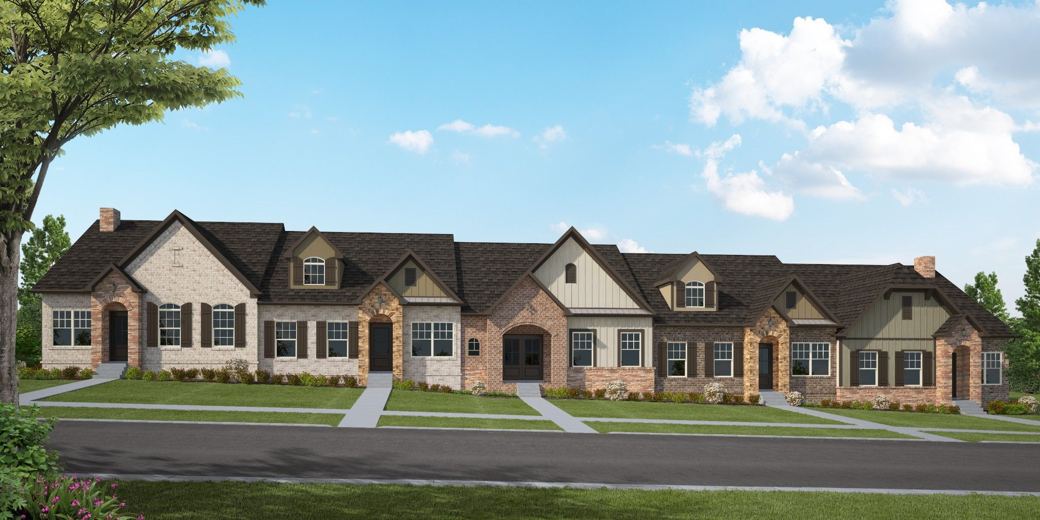 'Groves Park Cottages' by Goodall Homes in Knoxville