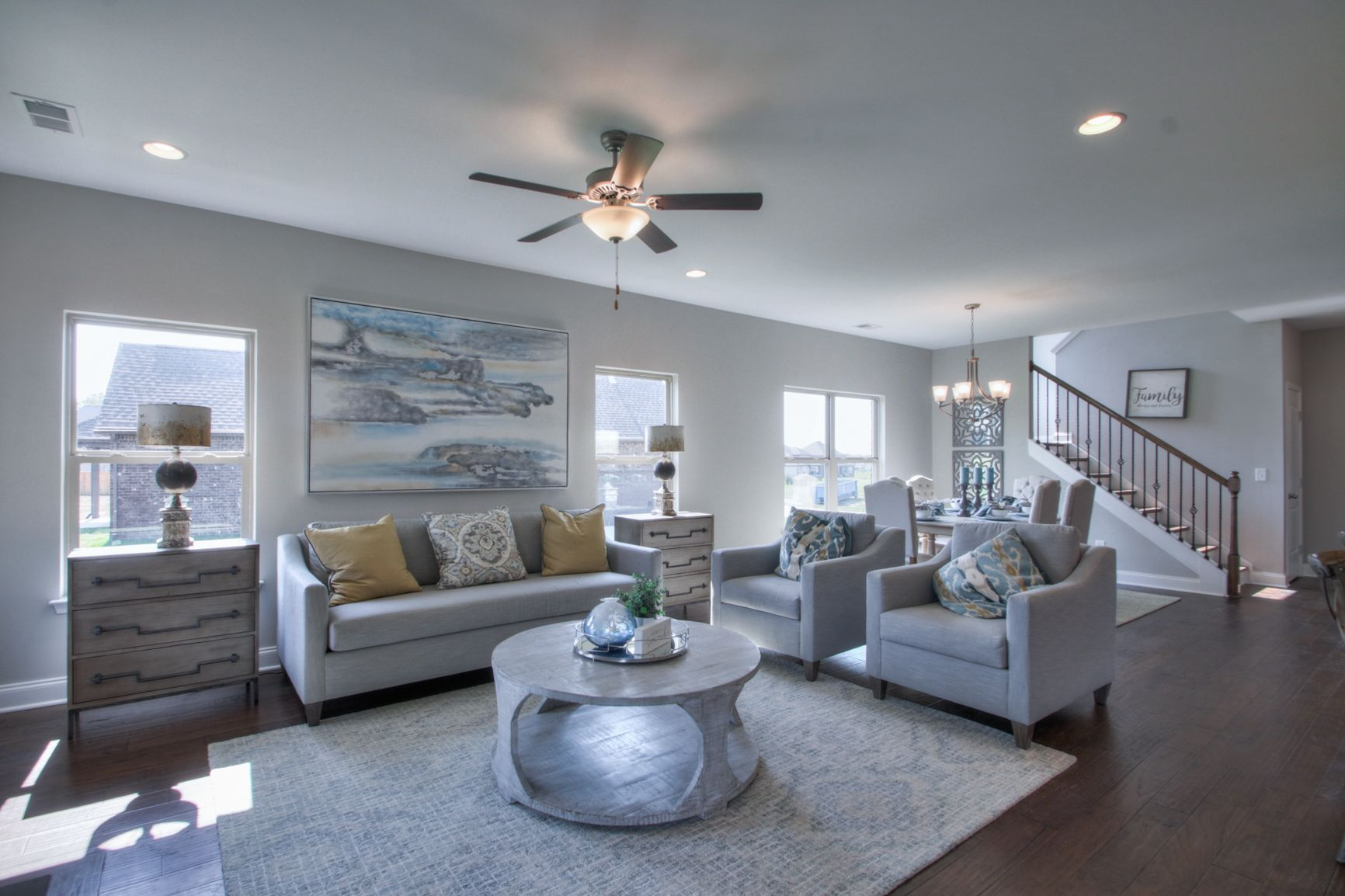 Living Area featured in The Harding By Goodall Homes in Chattanooga, TN