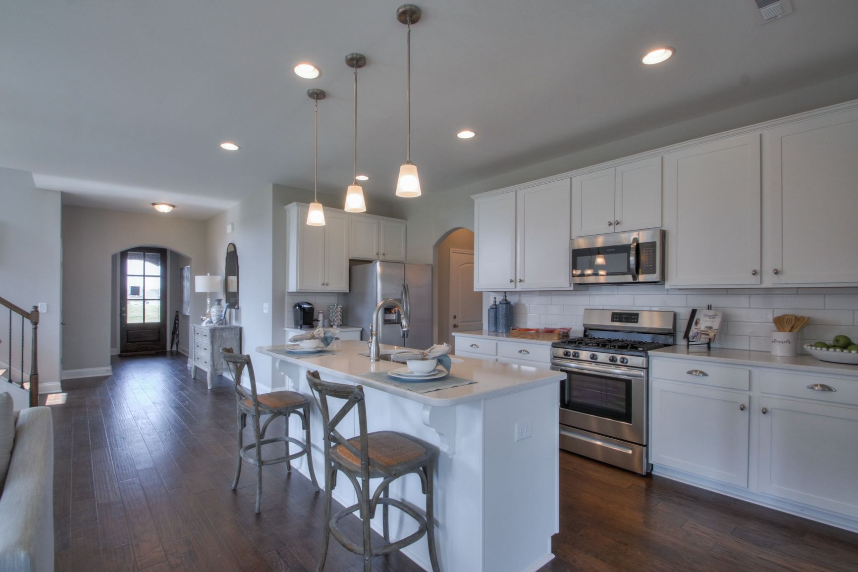 Kitchen featured in The Harding By Goodall Homes in Knoxville, TN