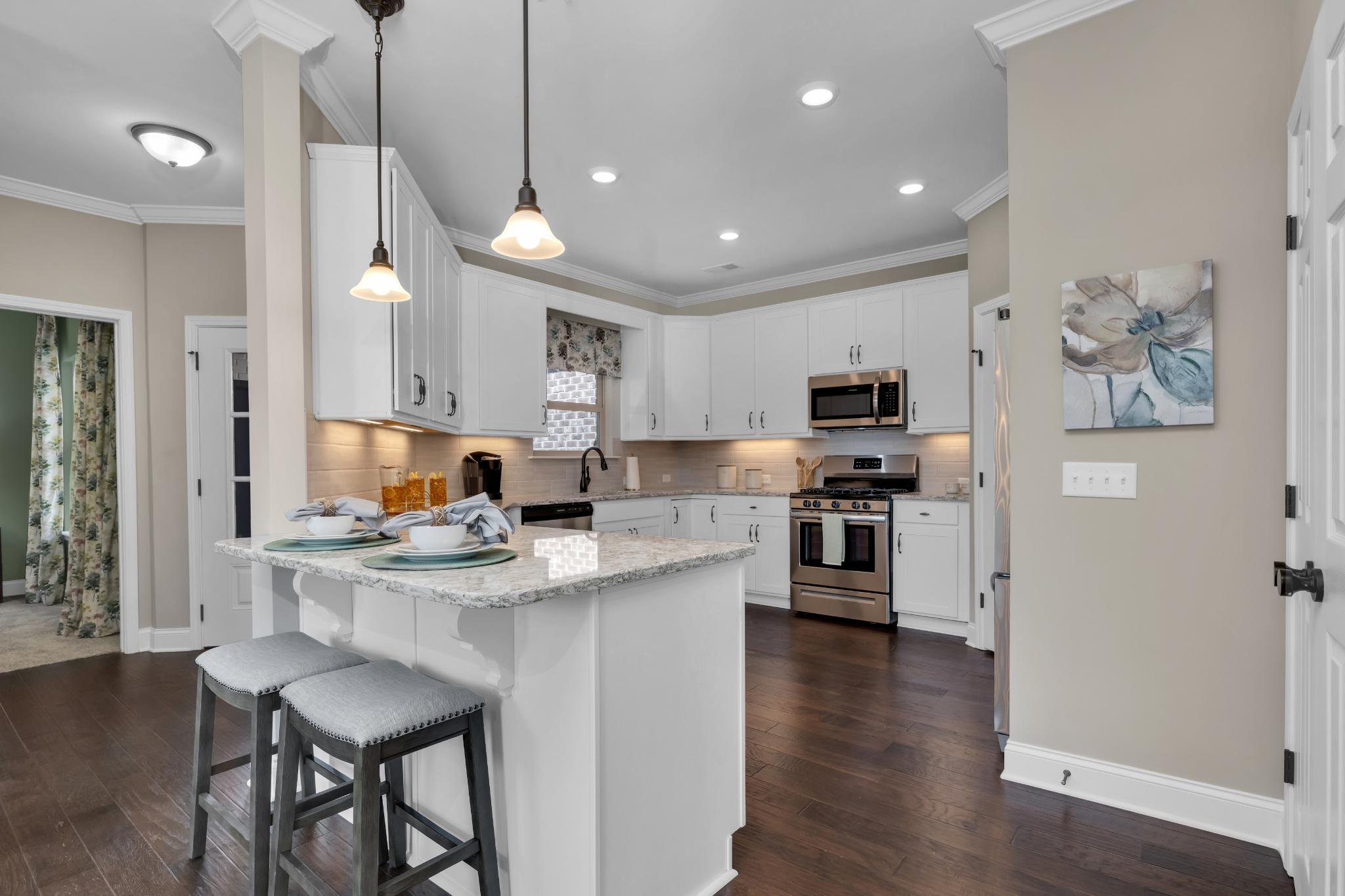 Kitchen featured in The Raleigh Courtyard Cottage By Goodall Homes in Knoxville, TN