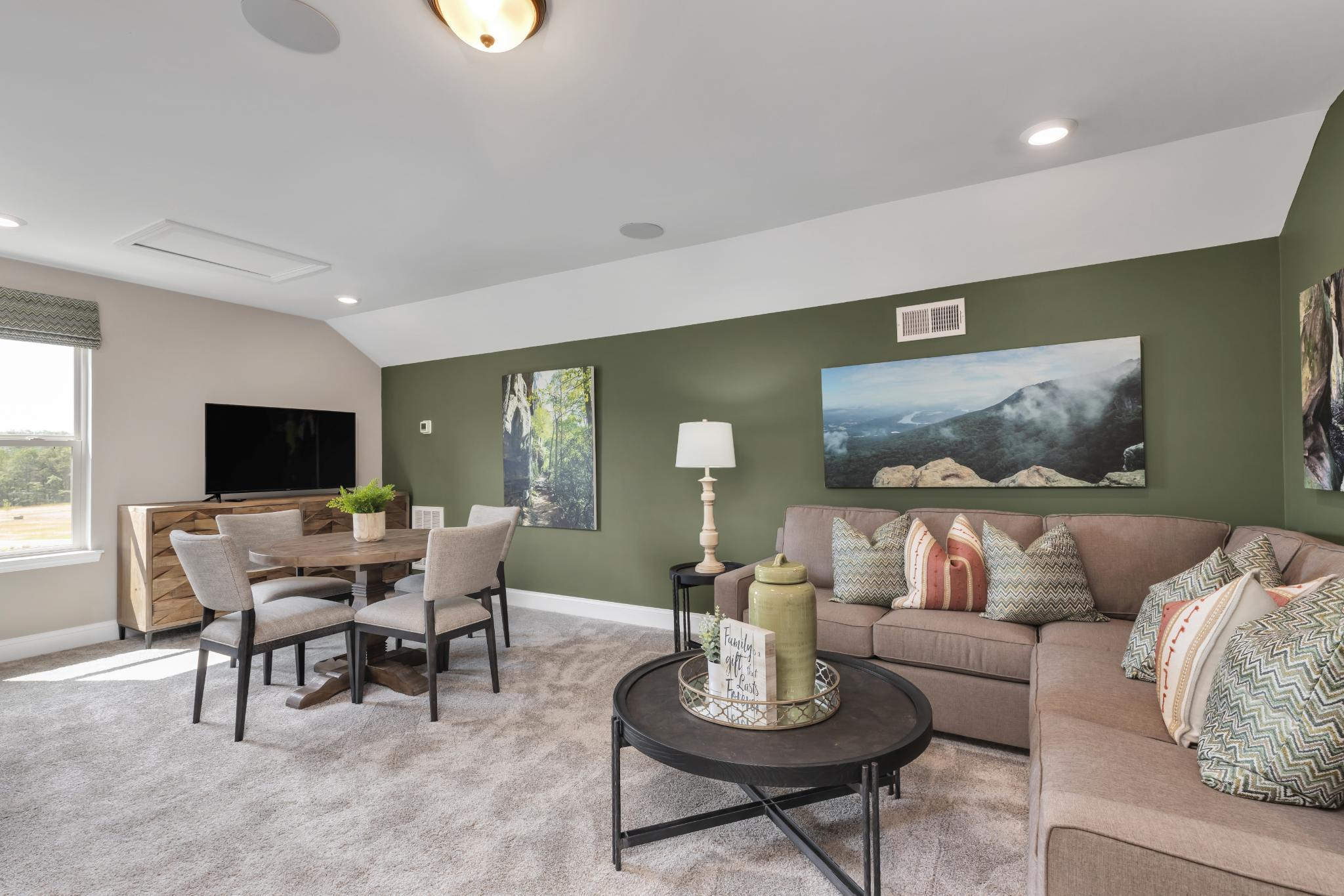Living Area featured in The Raleigh Courtyard Cottage By Goodall Homes in Knoxville, TN