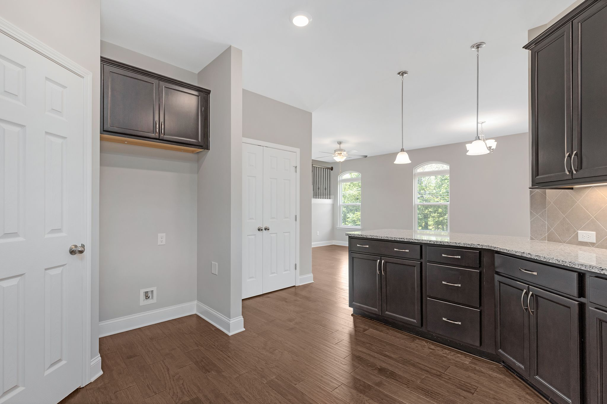 Kitchen featured in The Raleigh Courtyard Cottage By Goodall Homes in Chattanooga, GA