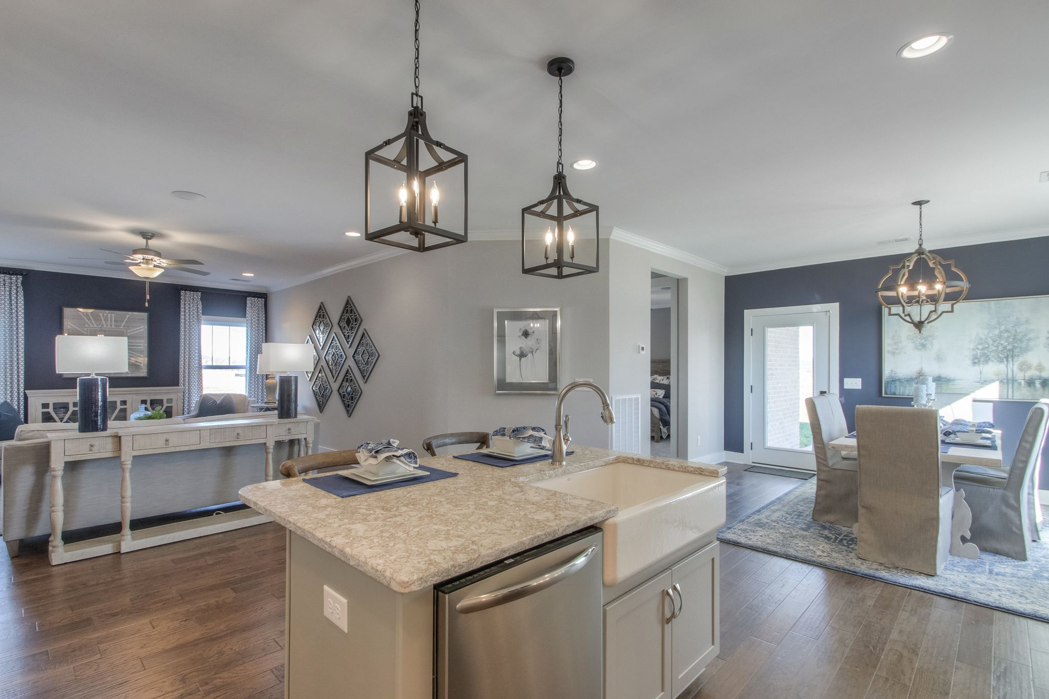 Living Area featured in The Kingsmont By Goodall Homes in Knoxville, TN