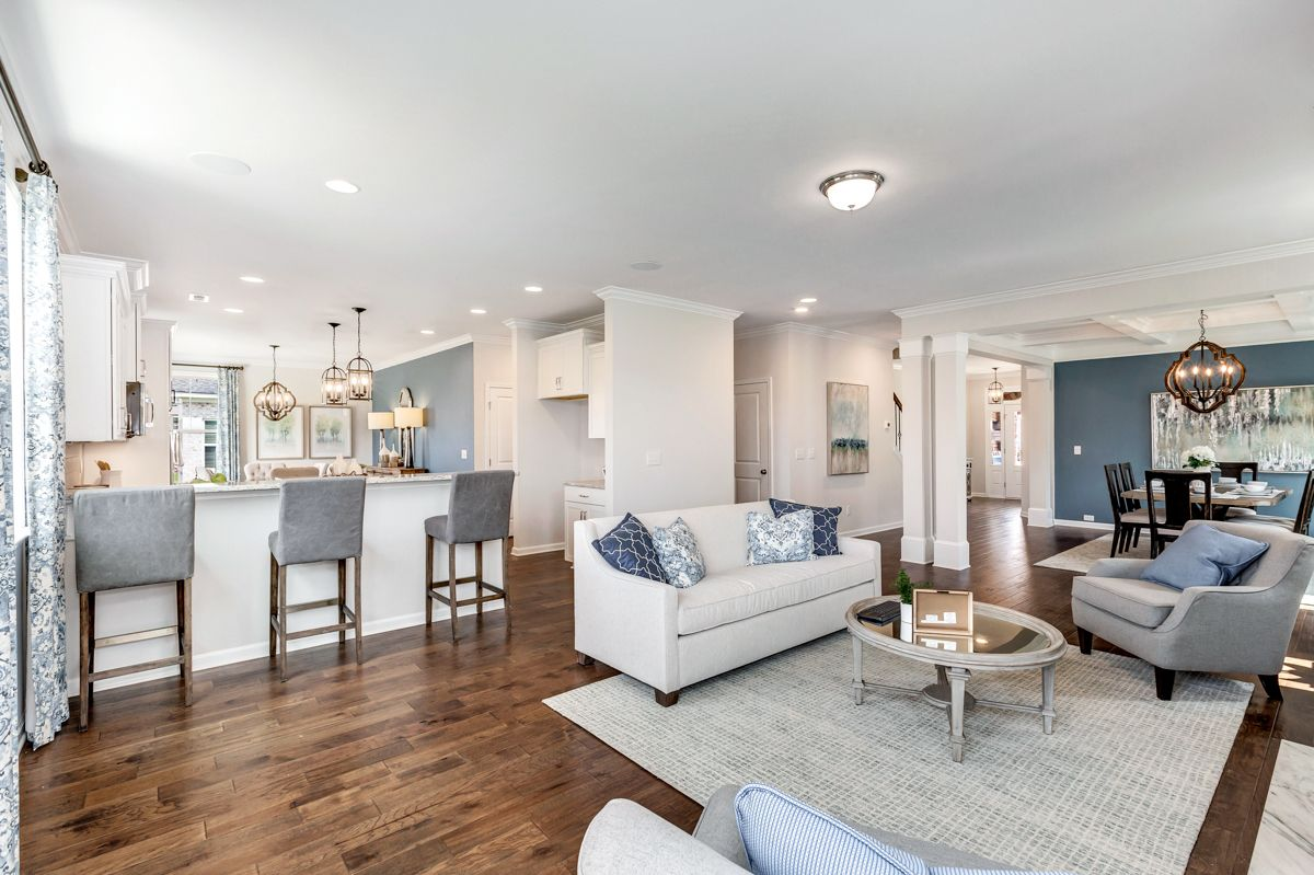 Living Area featured in The Worthing By Goodall Homes in Huntsville, AL