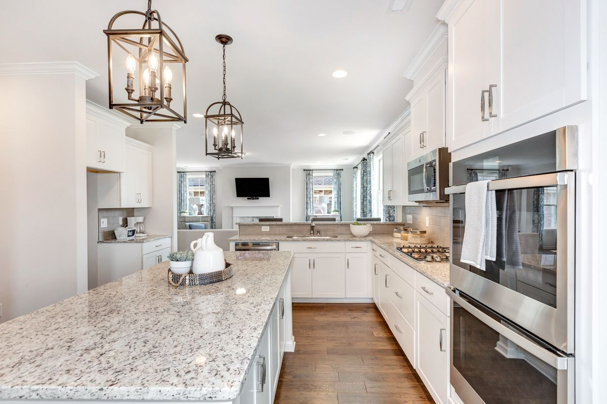 Kitchen featured in The Worthing By Goodall Homes in Huntsville, AL