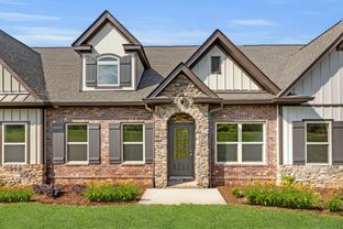 The Waverleigh Courtyard Cottage - The Preserve at Belle Pointe Cottages: Lebanon, Tennessee - Goodall Homes