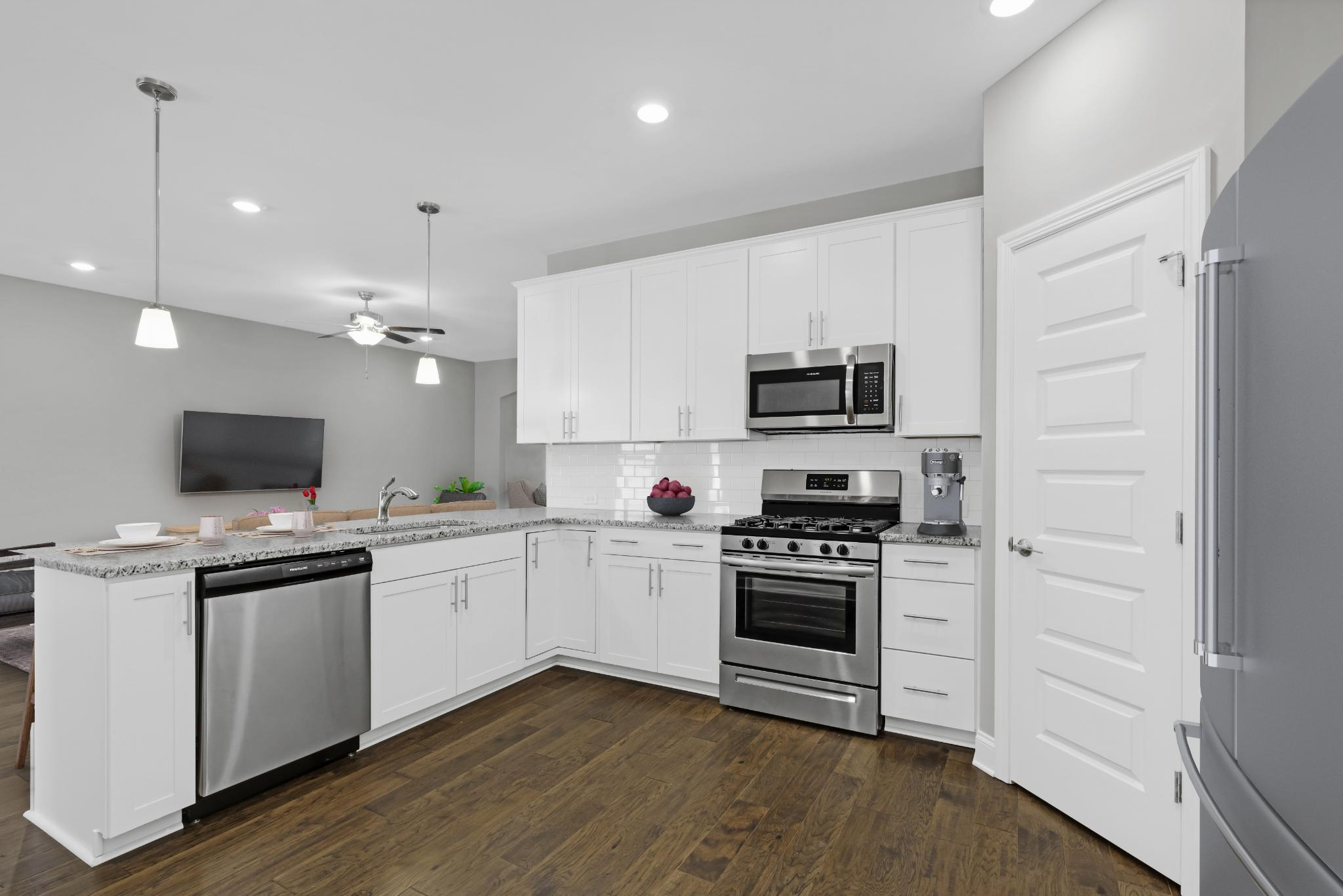 Kitchen featured in The Waverleigh Courtyard Cottage By Goodall Homes in Chattanooga, GA