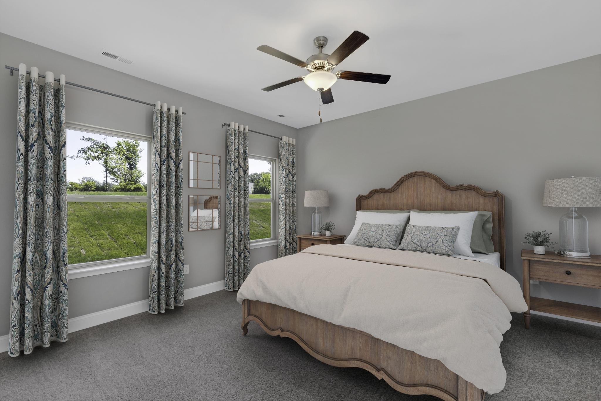 Bedroom featured in The Waverleigh Courtyard Cottage By Goodall Homes in Chattanooga, GA