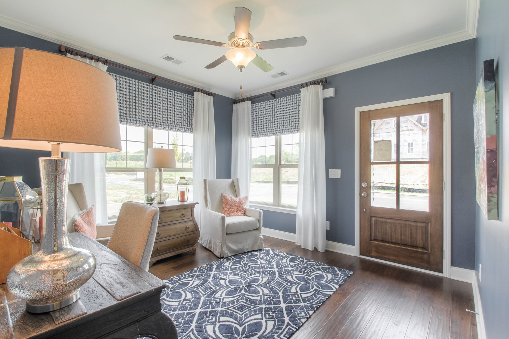 Living Area featured in The Raleigh Courtyard Cottage By Goodall Homes in Chattanooga, GA