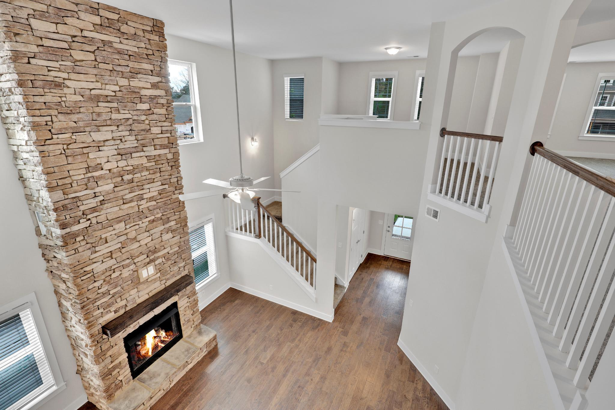 Living Area featured in The Wellington By Goodall Homes in Chattanooga, TN