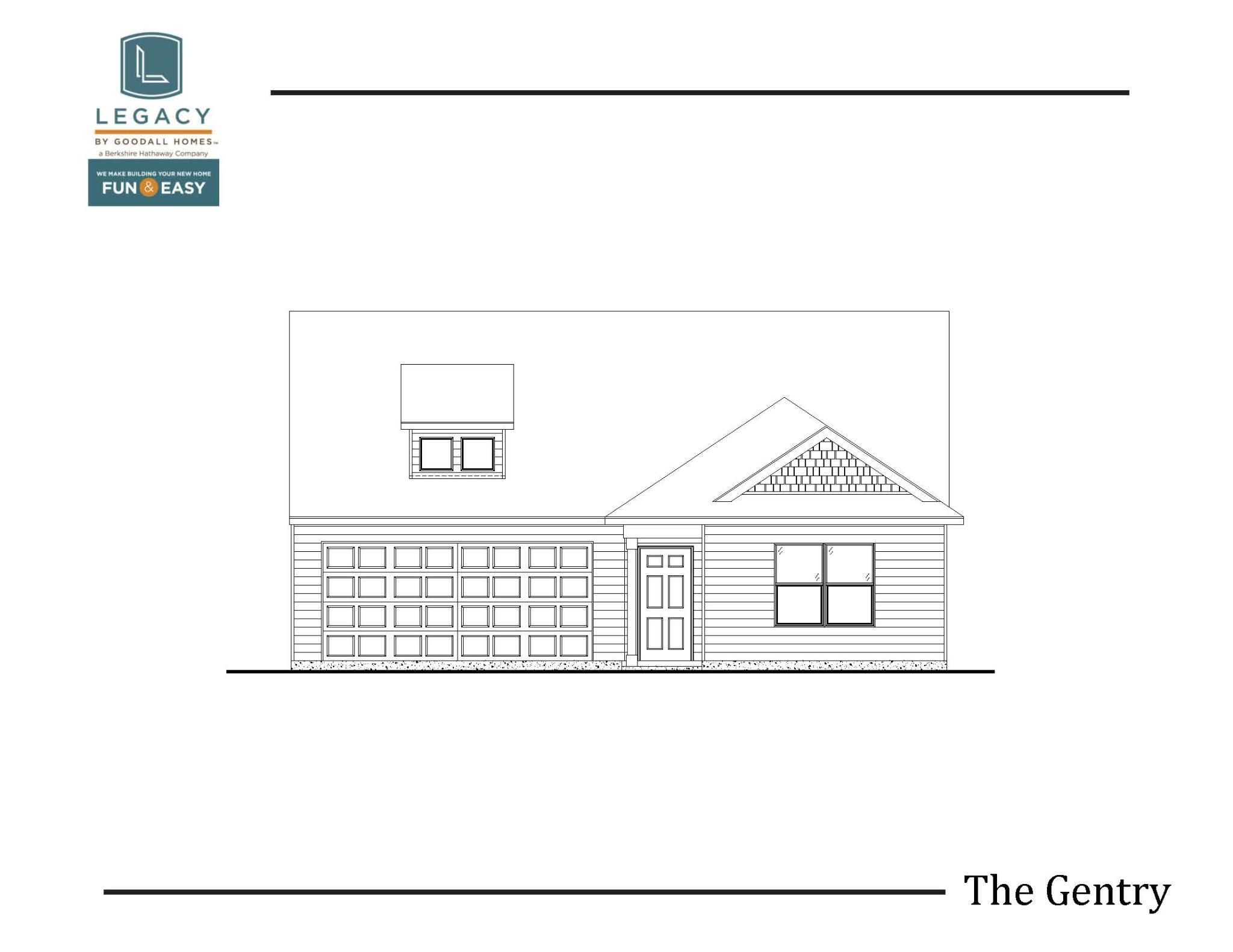 Exterior featured in The Gentry - Legacy By Goodall Homes in Owensboro, KY