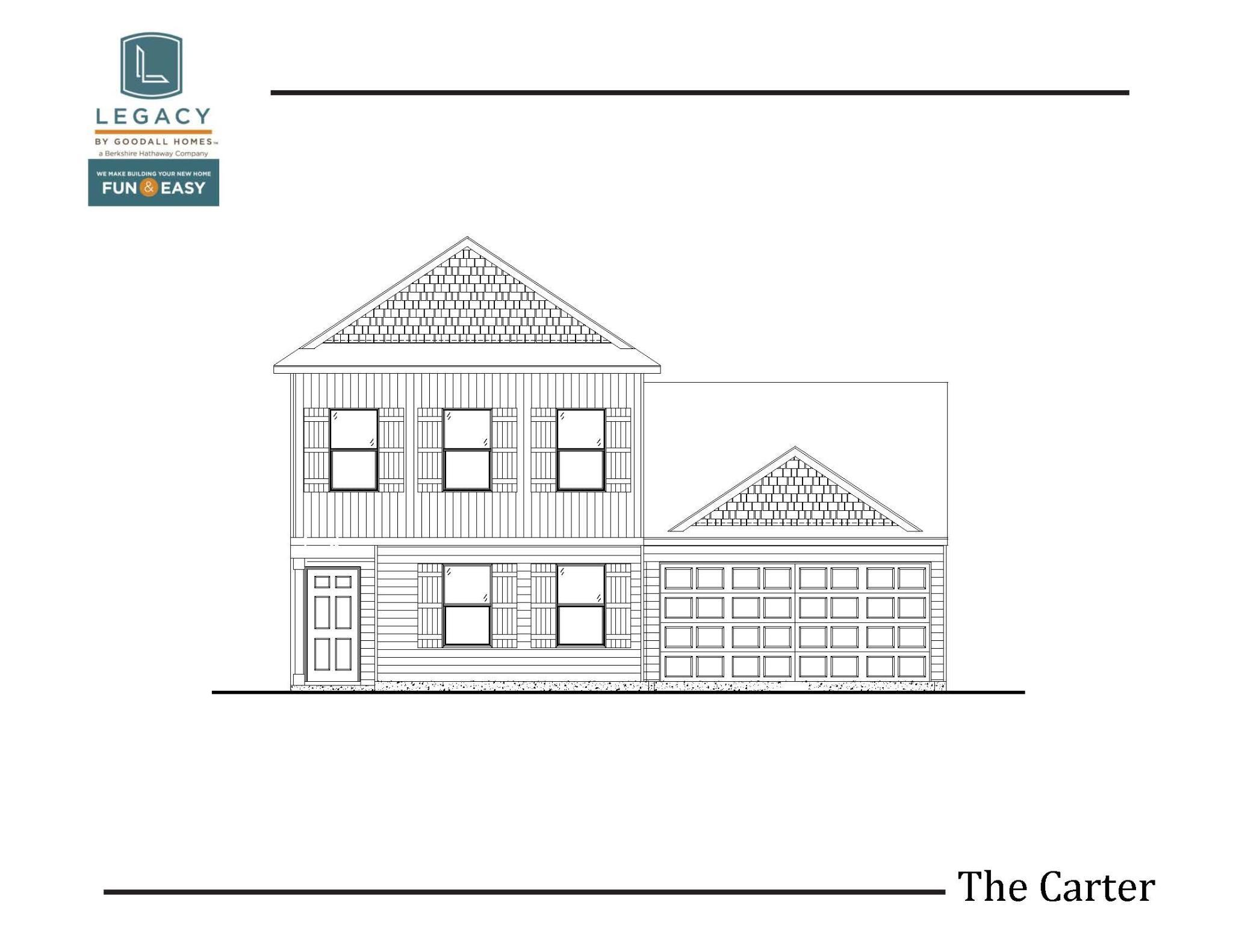 Exterior featured in The Carter - Legacy By Goodall Homes in Owensboro, KY