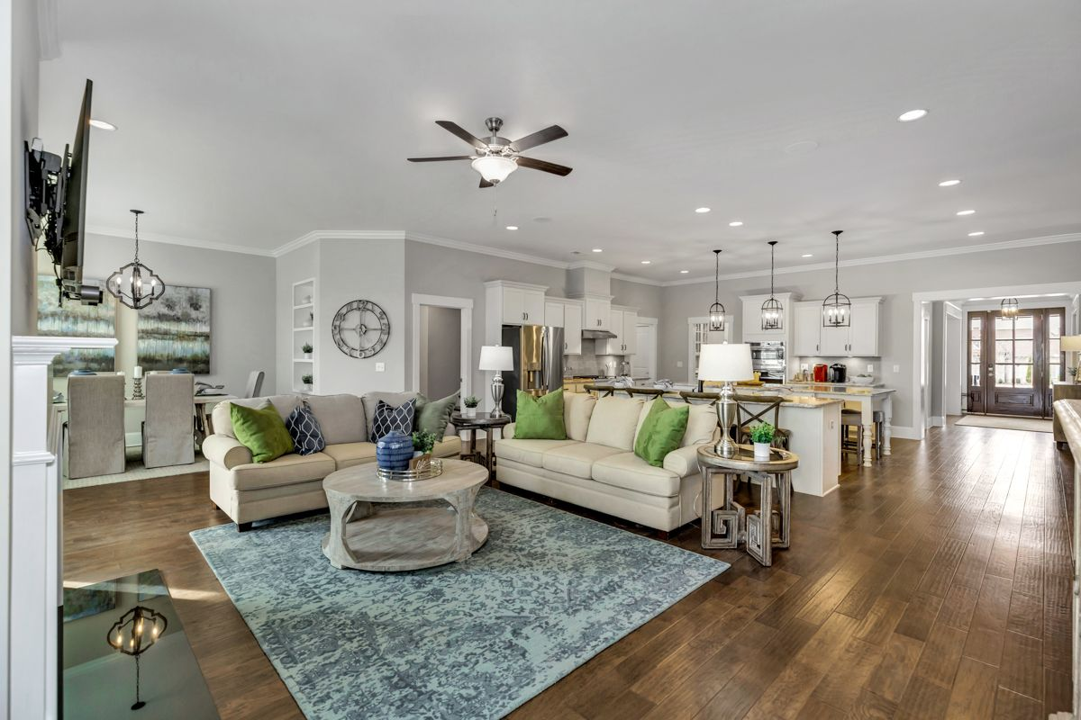 Living Area featured in The Holmes By Goodall Homes in Huntsville, AL
