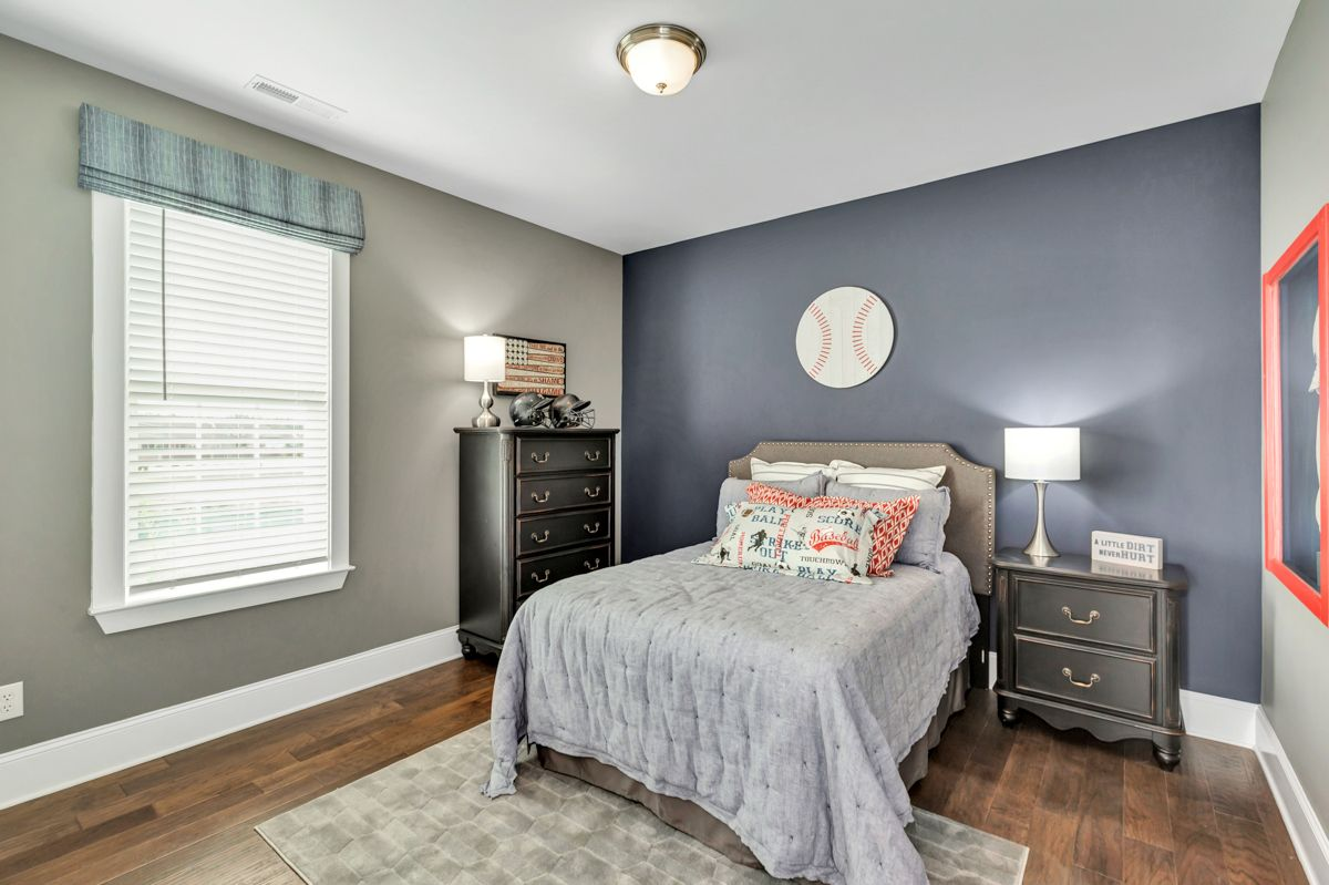 Bedroom featured in The Holmes By Goodall Homes in Huntsville, AL