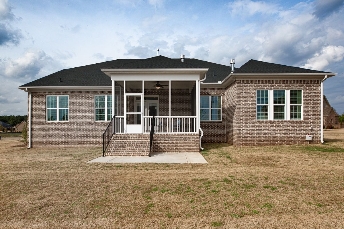 Exterior featured in The Holmes By Goodall Homes in Huntsville, AL