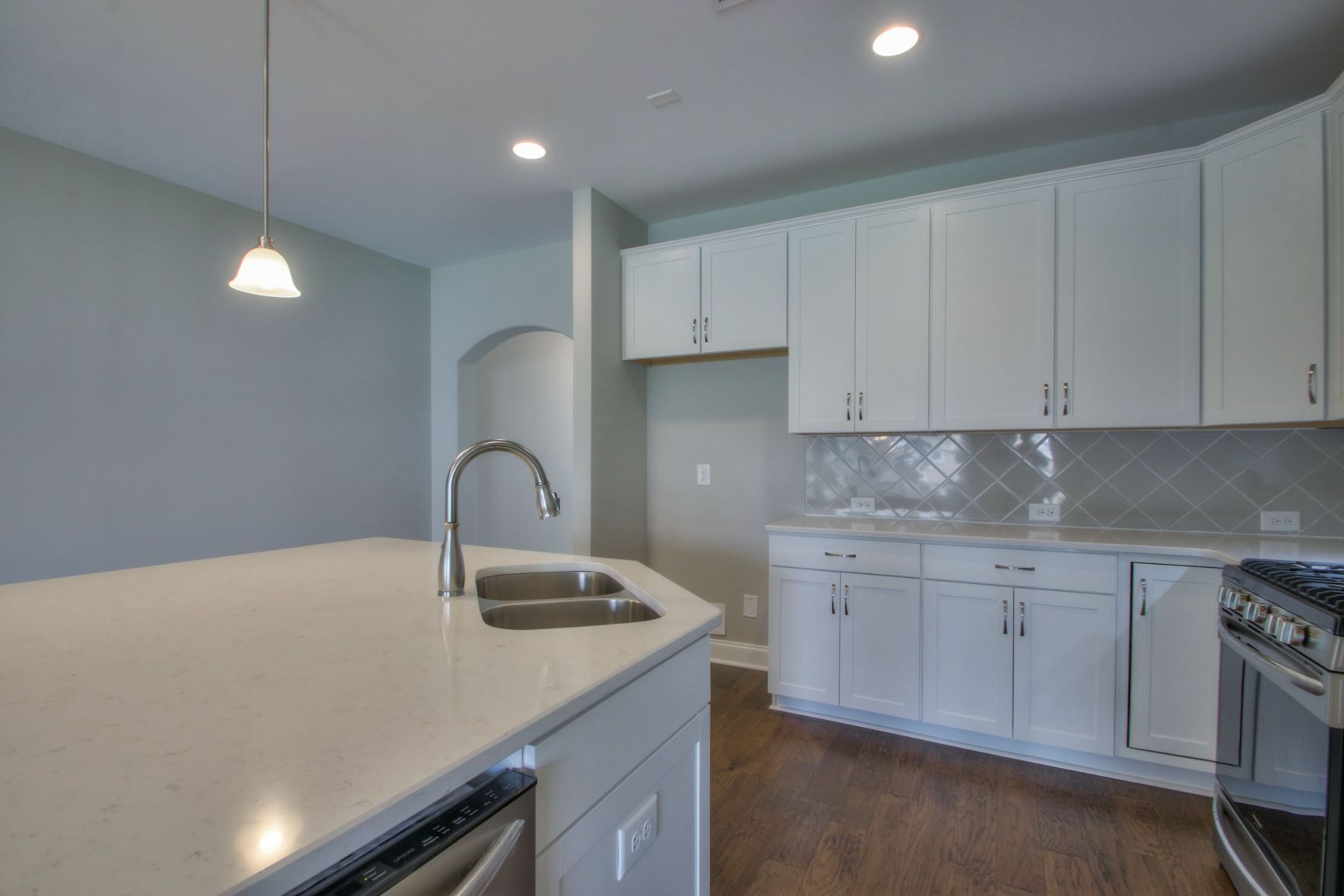 Kitchen featured in The Cambridge By Goodall Homes in Owensboro, KY