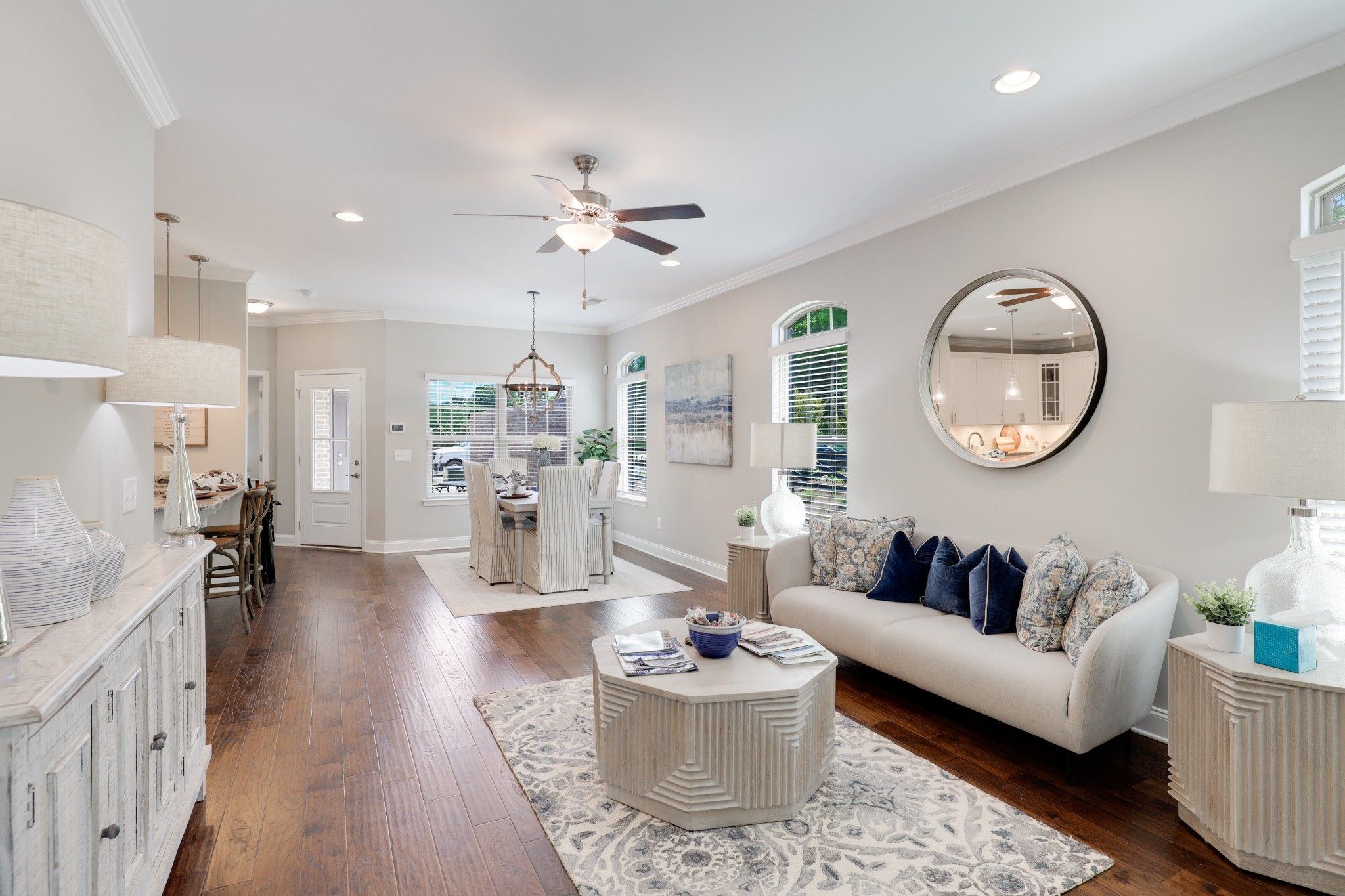 Living Area featured in The Everleigh Courtyard Cottage By Goodall Homes in Knoxville, TN