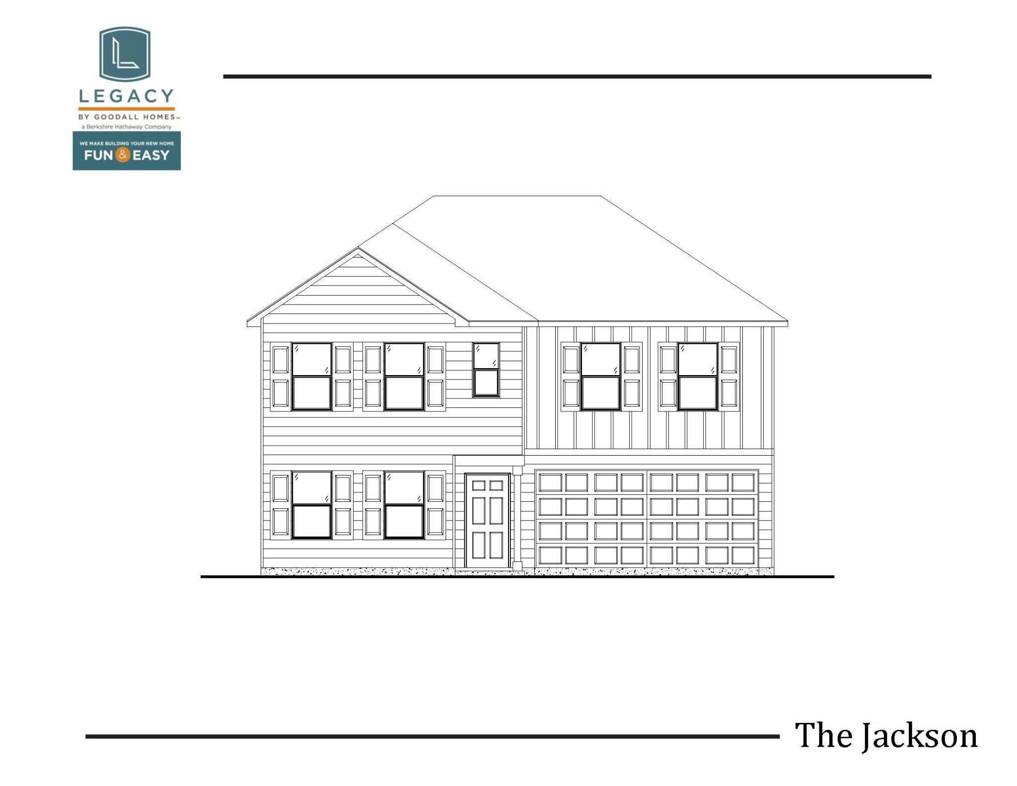 Exterior featured in The Jackson - Legacy By Goodall Homes in Owensboro, KY