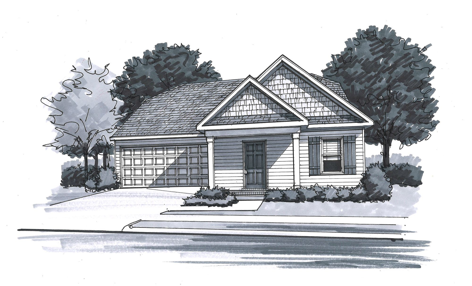 Exterior featured in The Harris - Legacy By Goodall Homes in Owensboro, KY