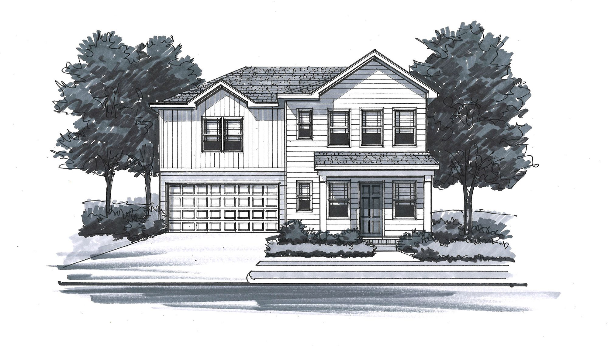 Exterior featured in The Stuart - Legacy By Goodall Homes in Owensboro, KY