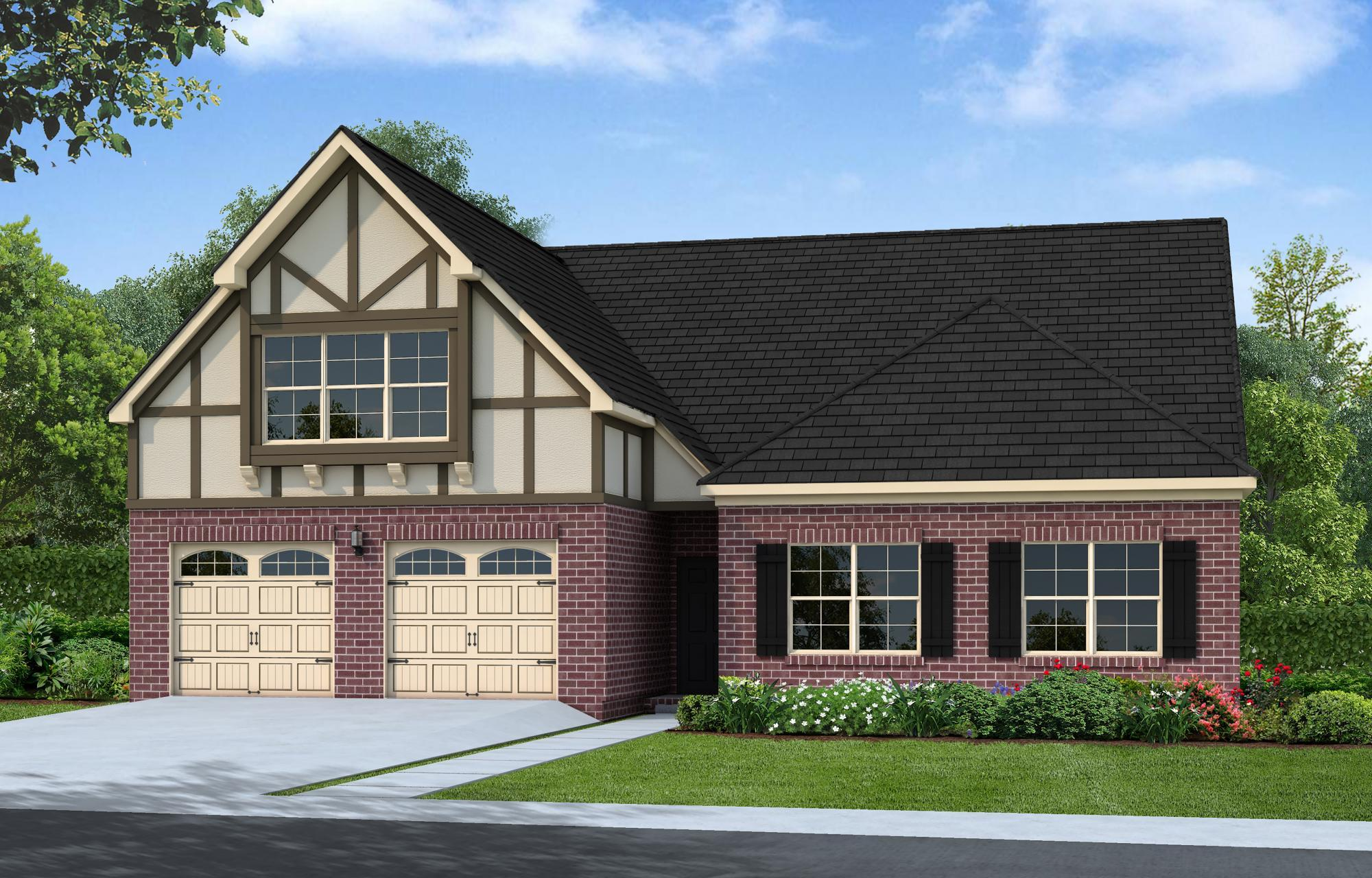 Exterior featured in The Hanover By Goodall Homes in Huntsville, AL