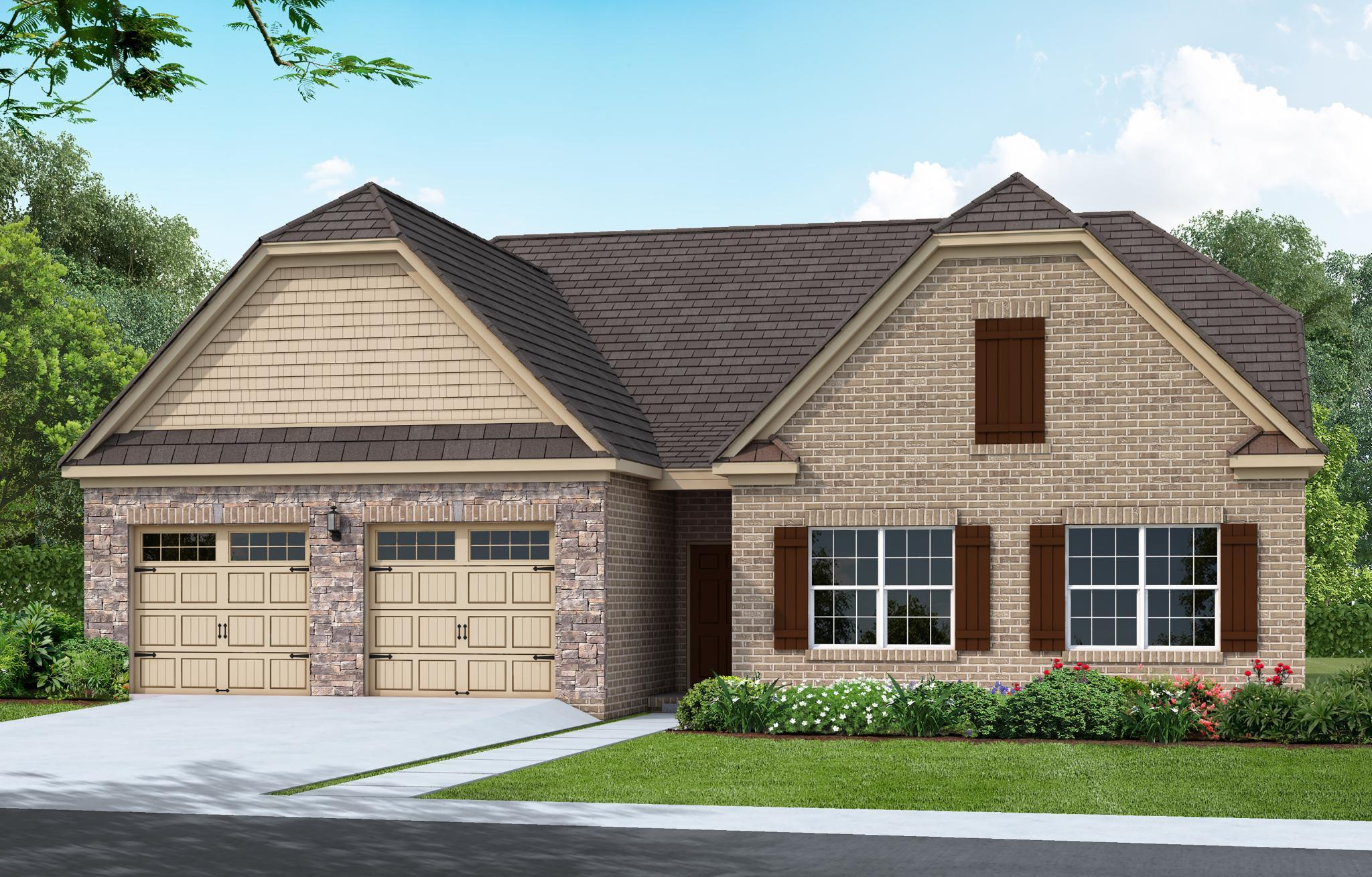Exterior featured in The Hanover By Goodall Homes in Knoxville, TN