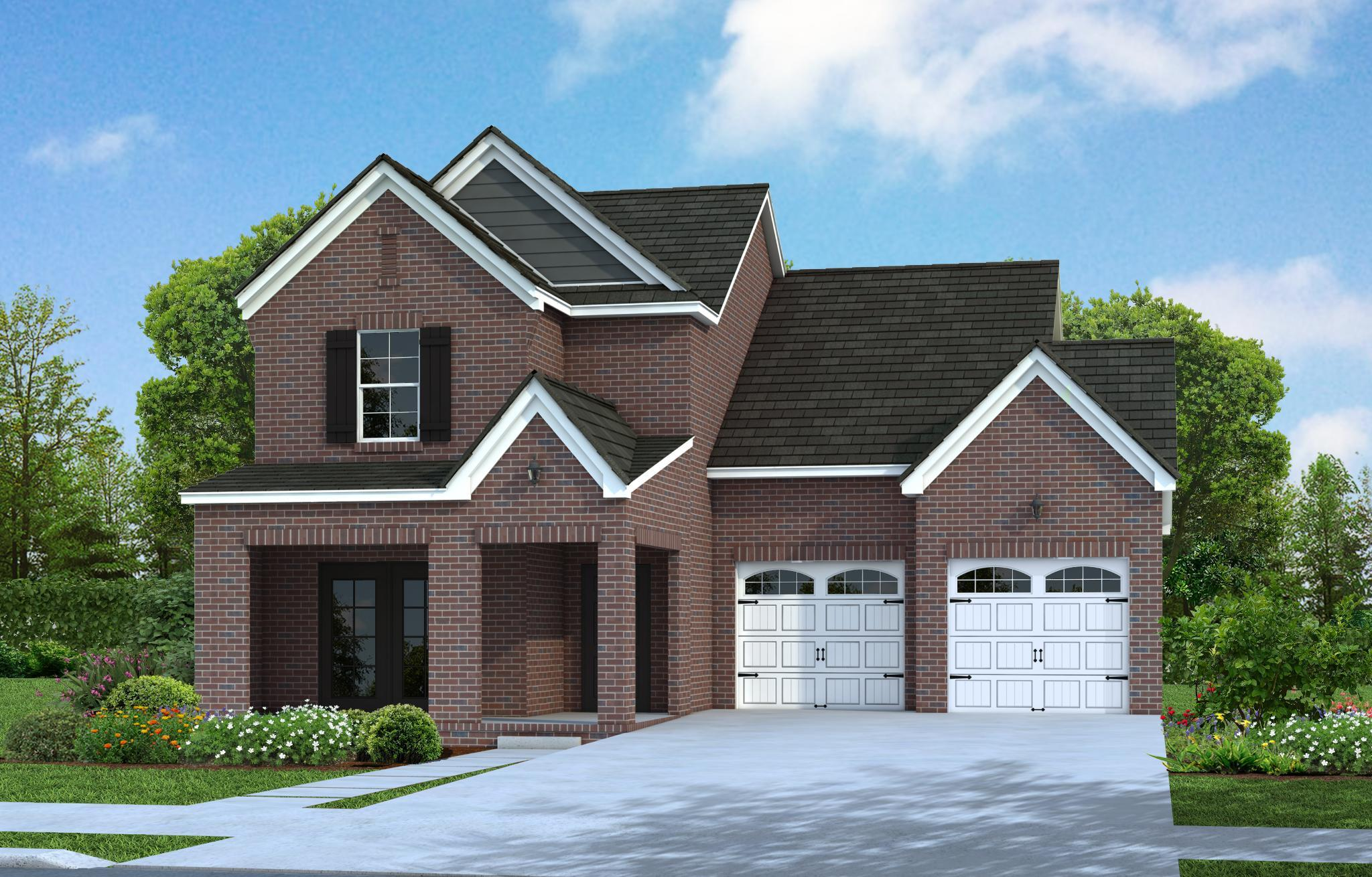 Exterior featured in The Kingsmont By Goodall Homes in Owensboro, KY