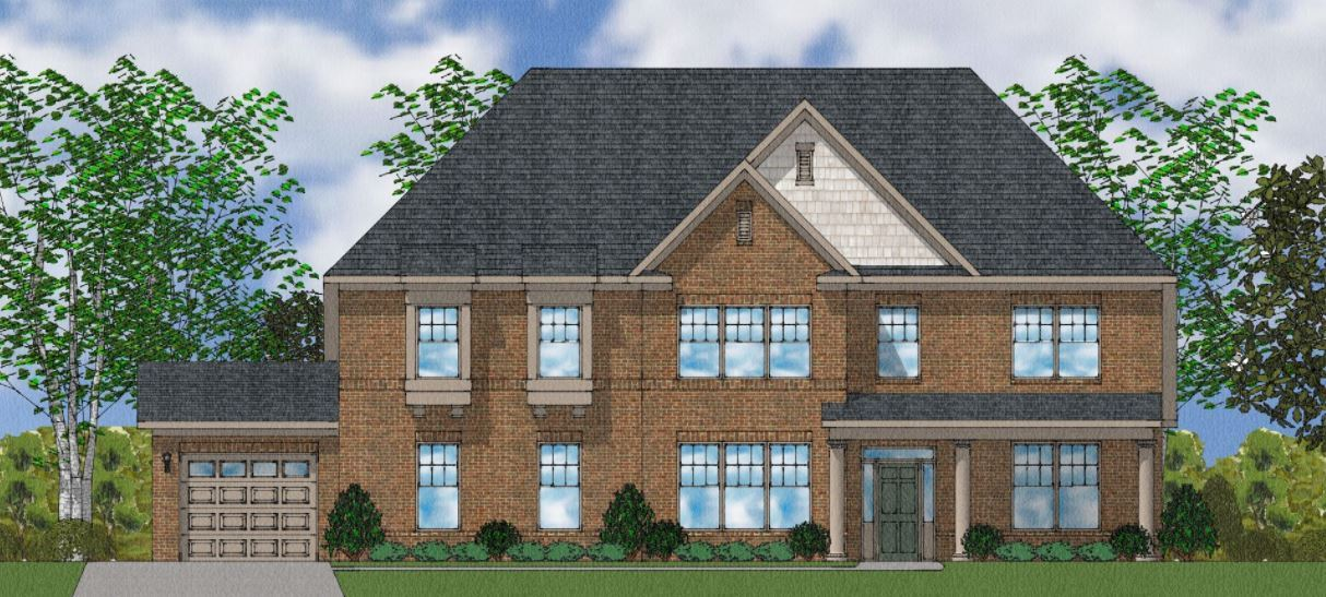 Exterior featured in The Patterson II By Goodall Homes in Huntsville, AL