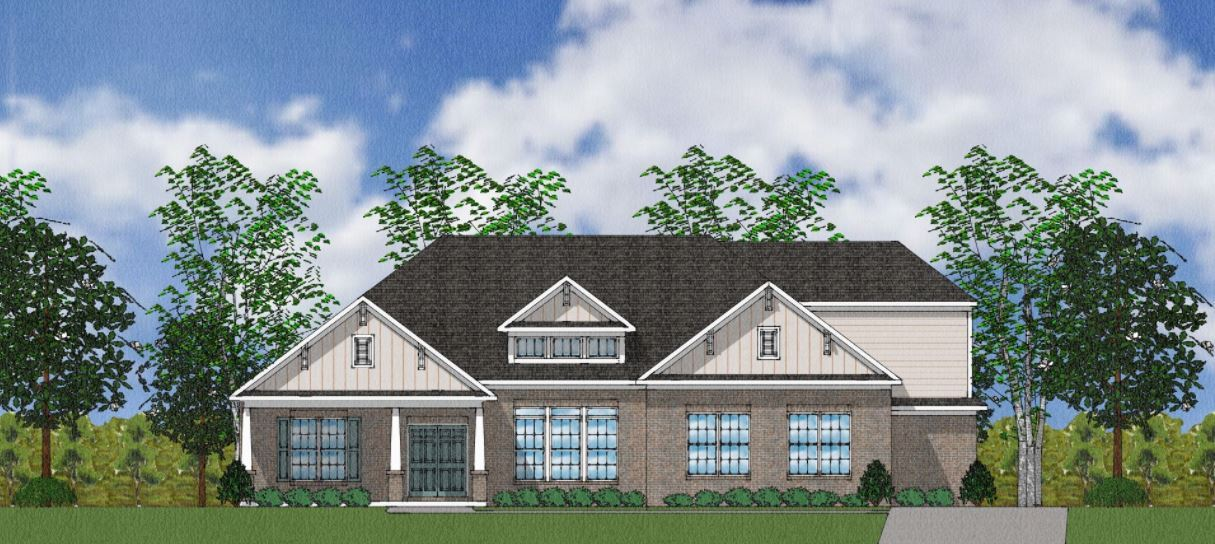 Exterior featured in The Templeton By Goodall Homes in Huntsville, AL