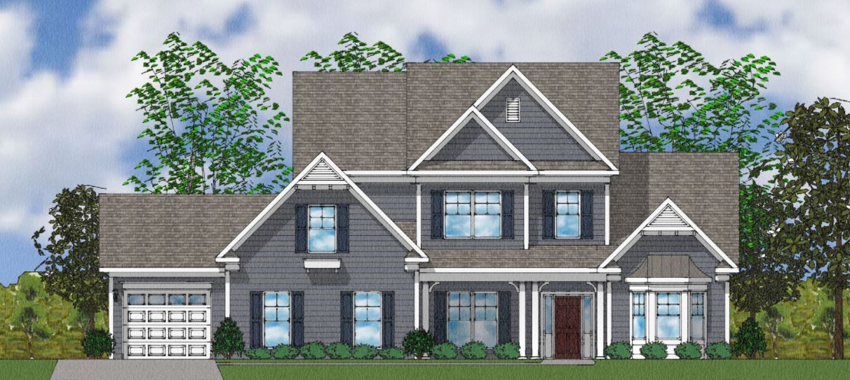 Exterior featured in The Bridges II By Goodall Homes in Huntsville, AL
