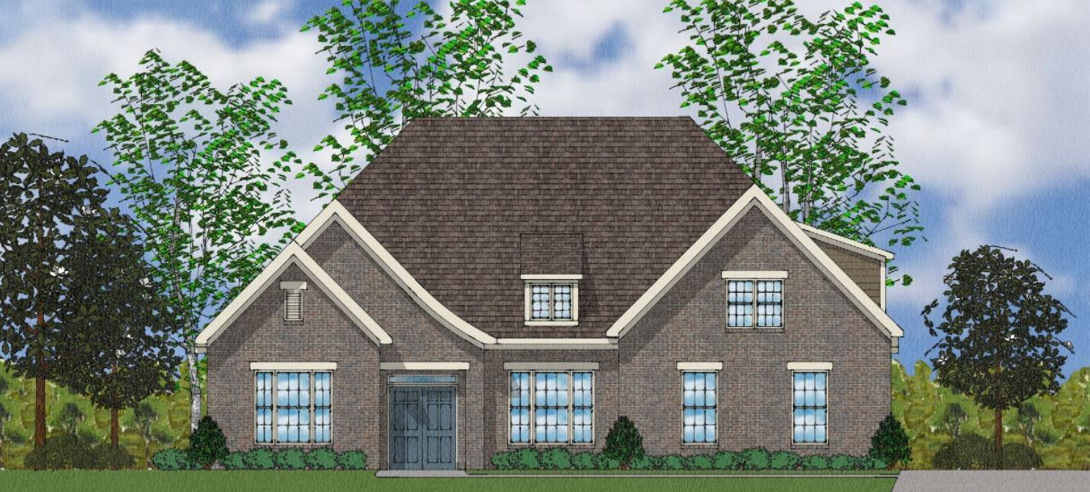 Exterior featured in The Blair By Goodall Homes in Huntsville, AL