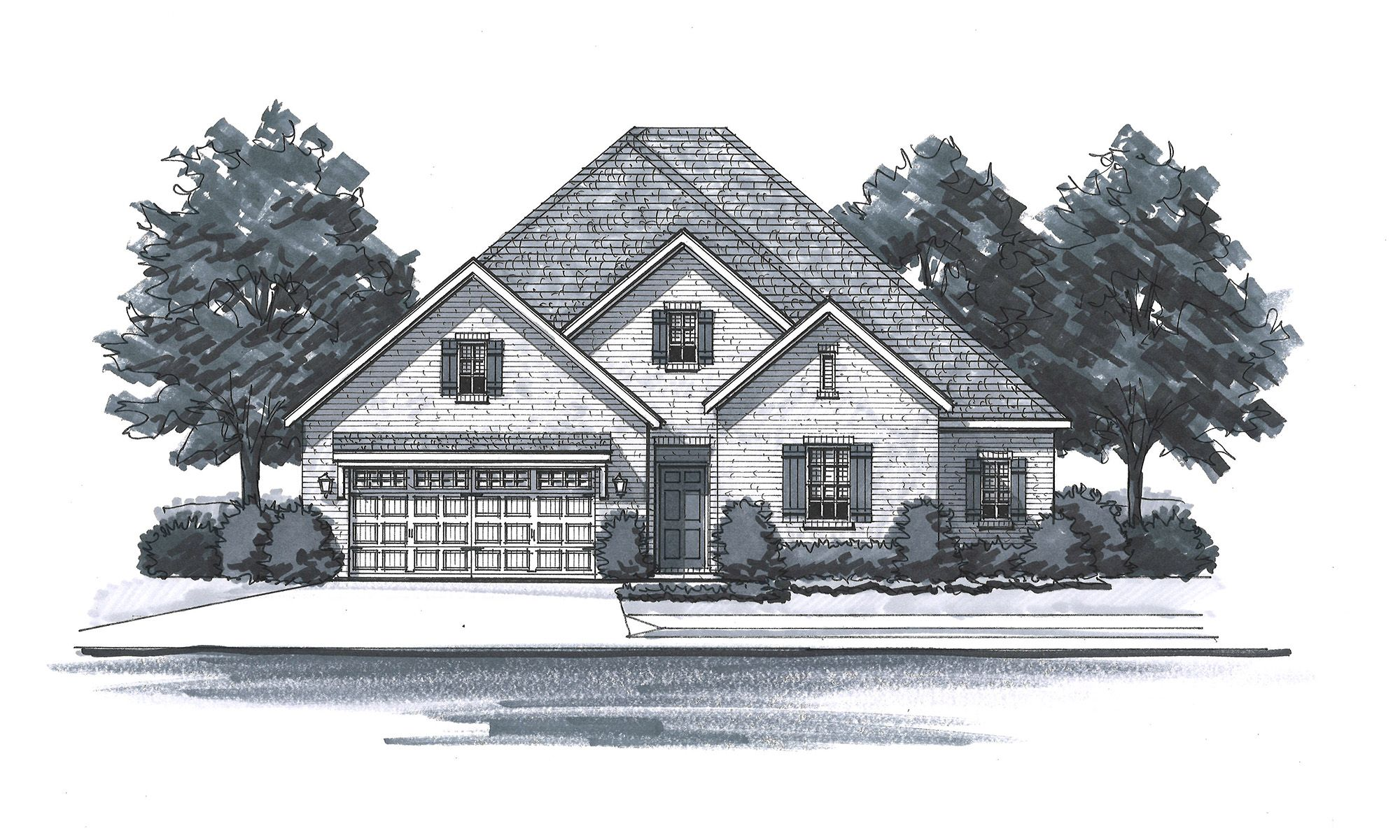 Exterior featured in The Loudon By Goodall Homes in Chattanooga, TN