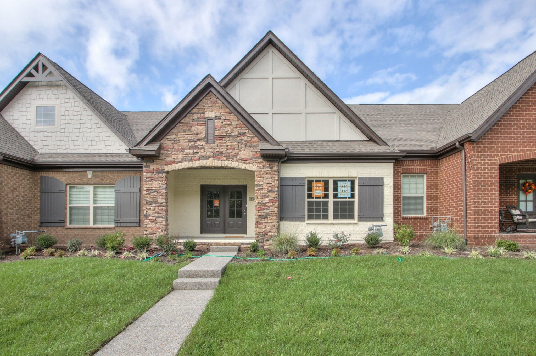 Exterior featured in The Ashleigh Courtyard Cottage By Goodall Homes in Knoxville, TN
