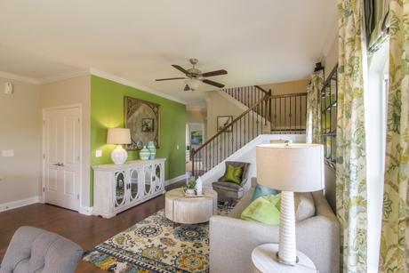 Greatroom-and-Dining-in-The Everleigh Courtyard Cottage-at-The Cottages at Waters Edge-in-Franklin