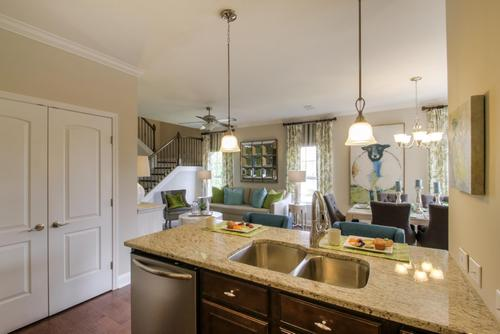Greatroom-and-Dining-in-The Everleigh Courtyard Cottage-at-The Cottages at Nolen Mill-in-Nolensville