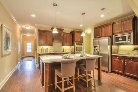 Kitchen-in-The Georgetown-at-The Villas at Weatherstone-in-Knoxville