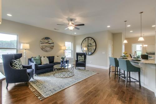 Greatroom-and-Dining-in-The Monroe-at-Groves Park-in-Oak Ridge
