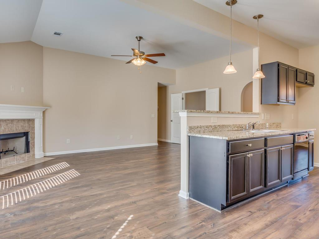 Kitchen featured in The Willow By Goodwyn Building in Montgomery, AL