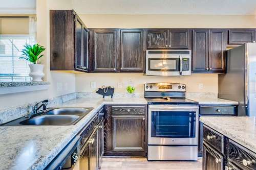 Kitchen-in-The Lilac-at-Park Lake-in-Montgomery