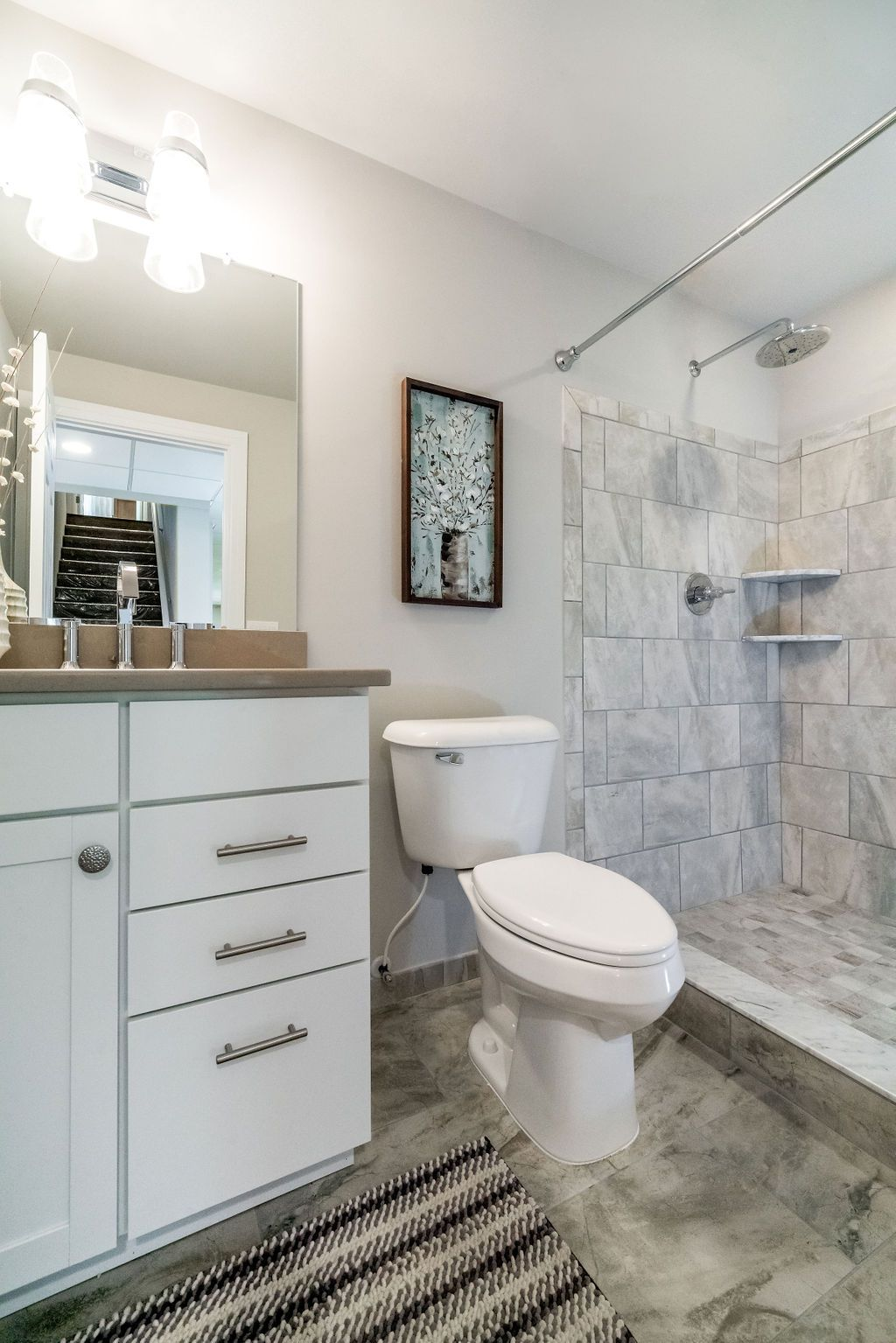 Bathroom featured in the Chatham By Grandview Building Inc. in Detroit, MI