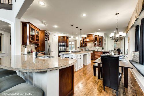 Kitchen-in-Grand Lantana-at-Landings of Kittyhawk-in-Allen