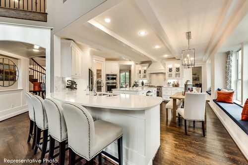 Kitchen-in-Grand Lantana - 3rd Car Garage-at-Bower Ranch-in-Mansfield