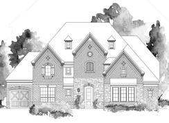 Cumberland III - 3rd Car Garage - Bower Ranch: Mansfield, Texas - Grand Homes