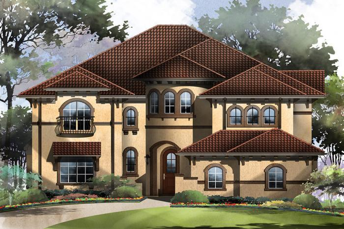 Exterior featured in the Downton Abbey By Grand Homes in Dallas, TX