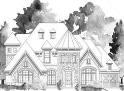 Grand Lantana - 3rd Car Garage - Bower Ranch: Mansfield, Texas - Grand Homes