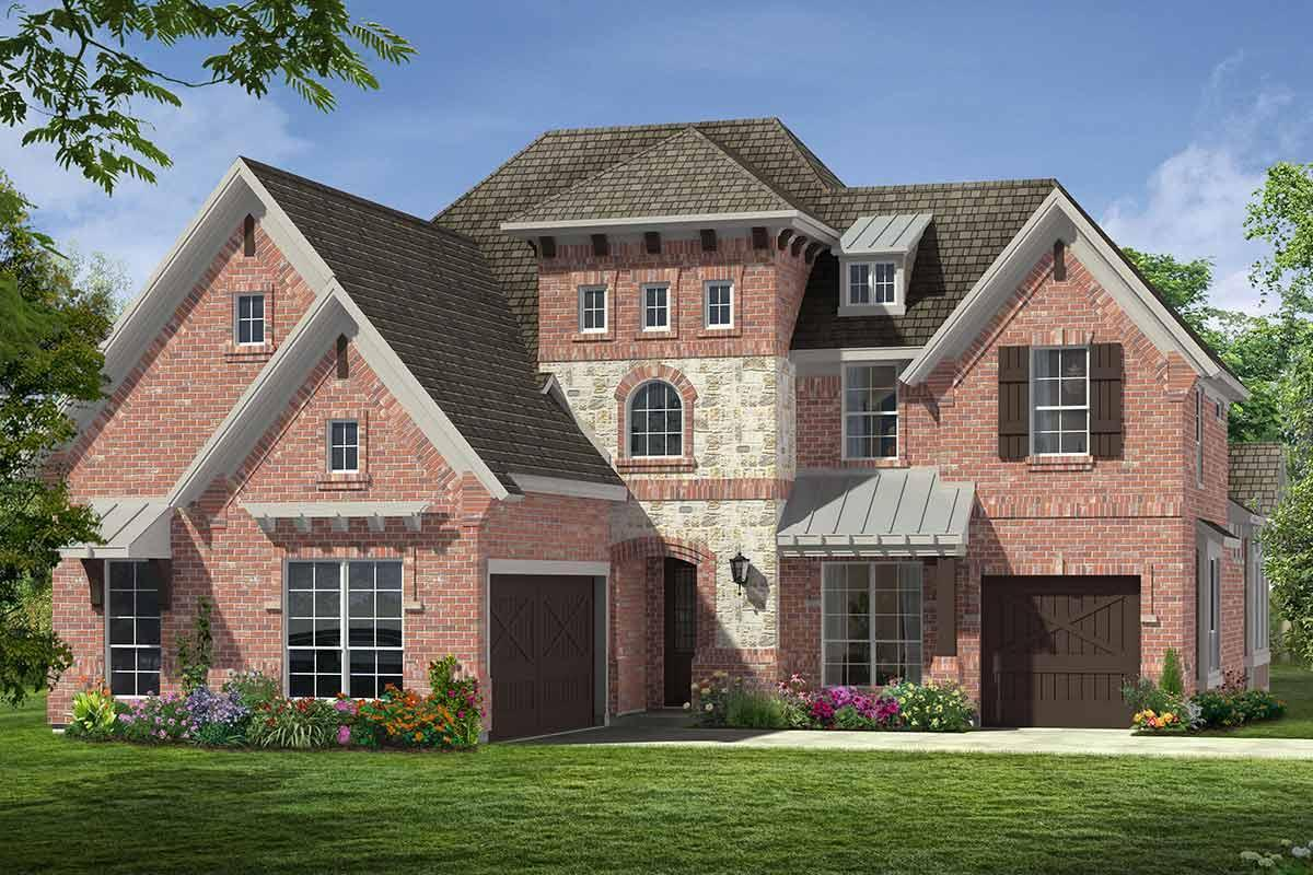 Exterior featured in the Grand South Pointe By Grand Homes in Dallas, TX