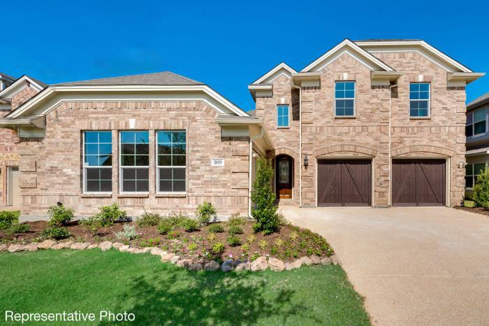 Exterior featured in the Hartford V By Grand Homes in Dallas, TX