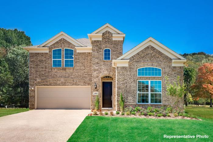 Exterior featured in the Abernathy By Grand Homes in Dallas, TX