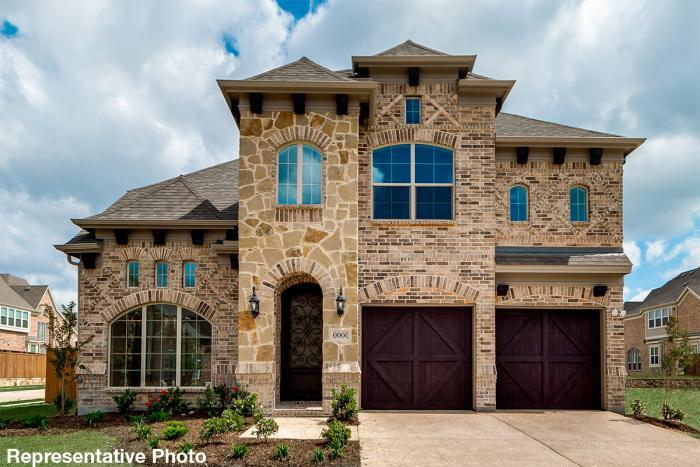 Exterior featured in the Grand Alexandria By Grand Homes in Dallas, TX