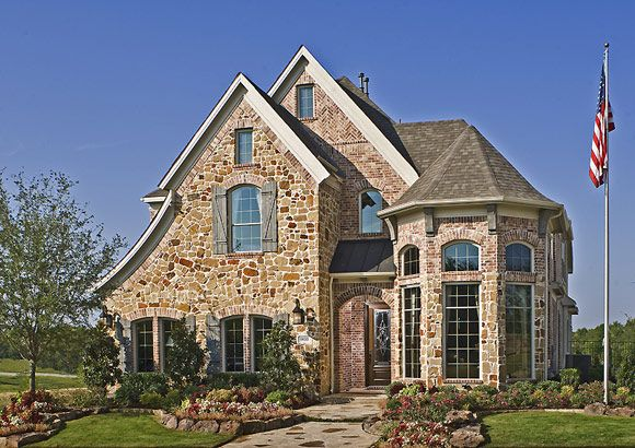 Exterior featured in the Grand Forest By Grand Homes in Dallas, TX